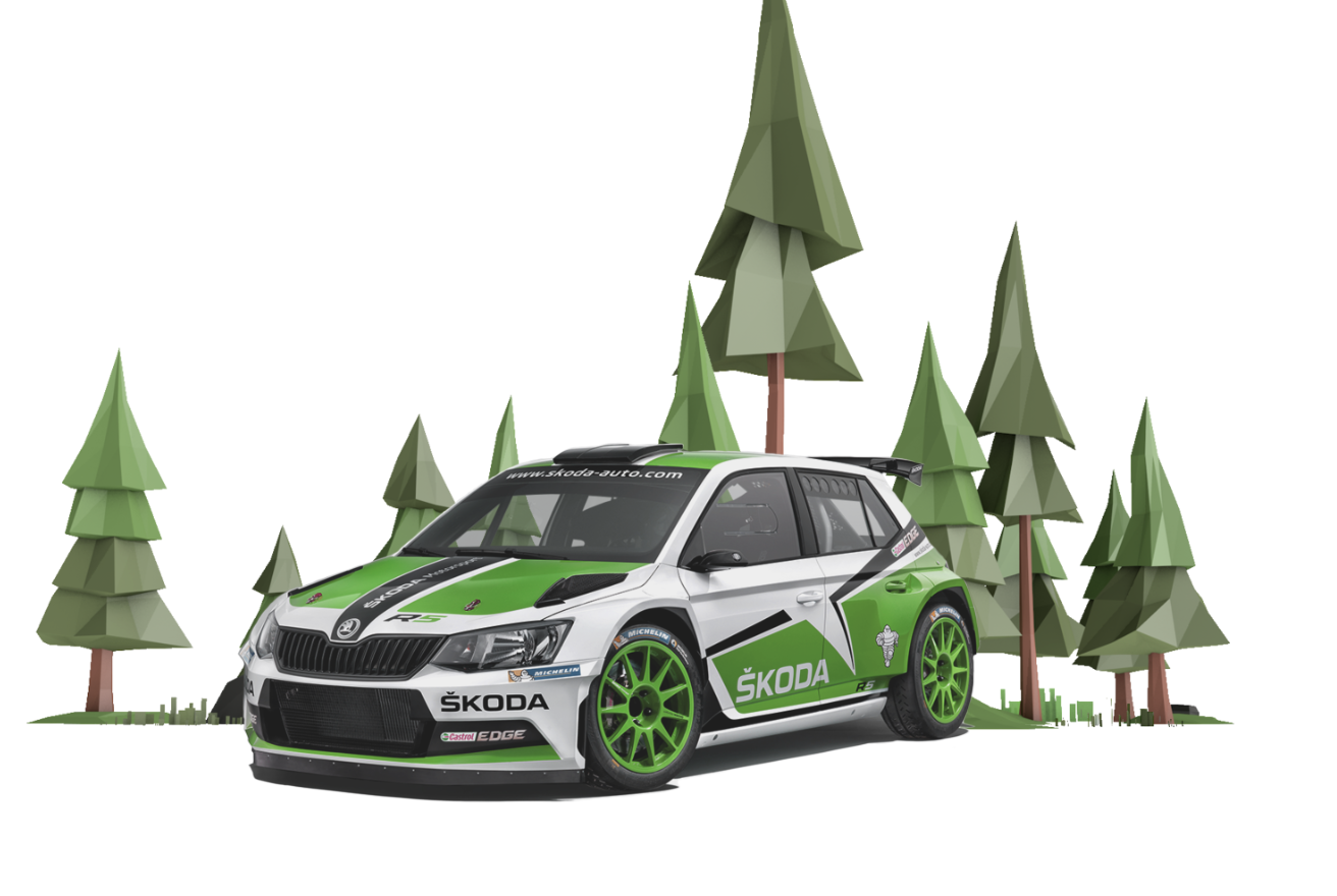 Race FABIA R5 Anywhere You Go with MOTORSPORT AR App