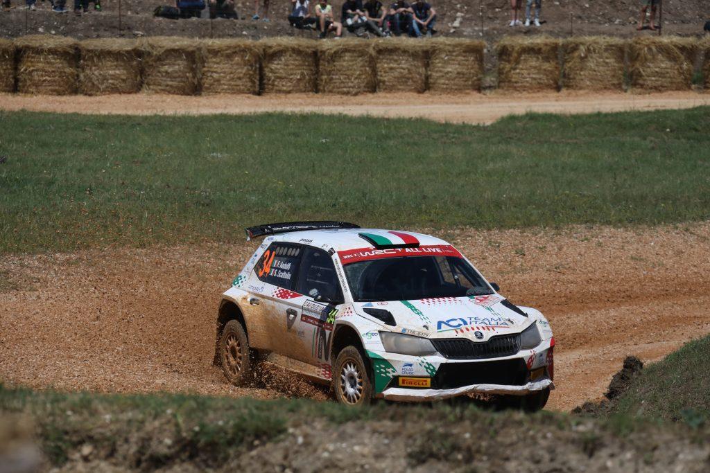 Fabio Andolfi / Simone Scattolin, ŠKODA FABIA R5, ACI Team Italia. Rally Italia Sardegna 2018
