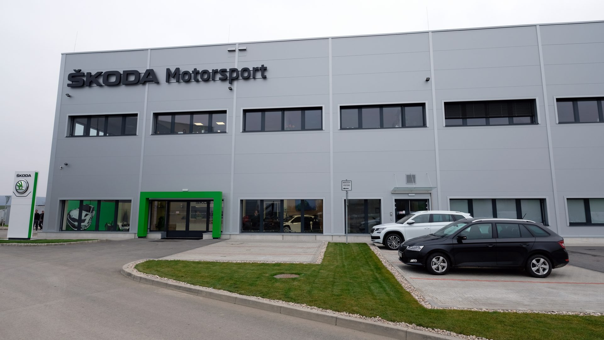 Introducing ŠKODA Motorsport's New Home
