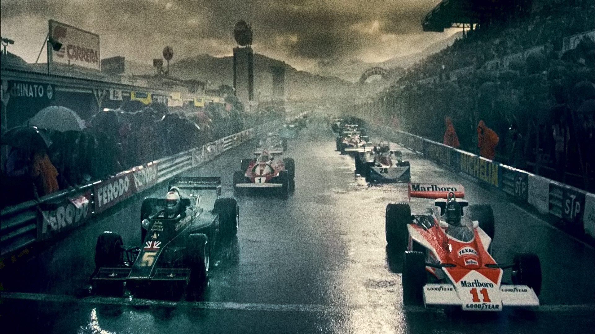 Rush: A Tale of Two Drivers, Different Like Night and Day