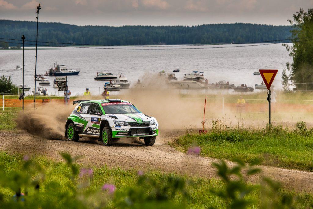Ole Christian Veiby / Stig Rune Skjærmoen, Rally Finland 2018