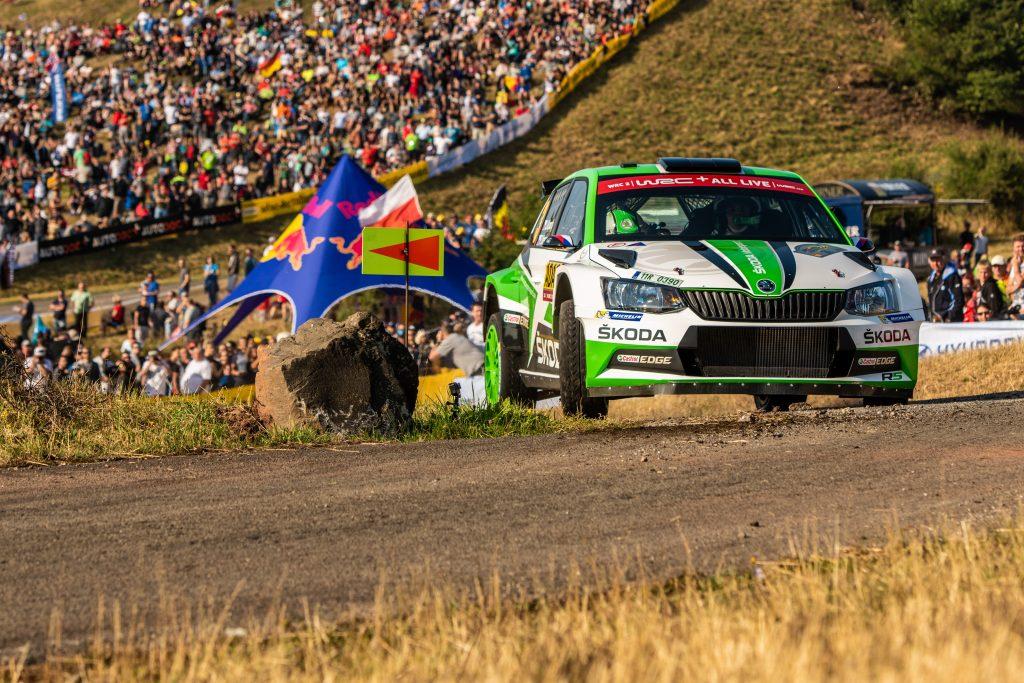 Jan Kopecký / Pavel Dresler, ADAC Rallye Deutschland 2018