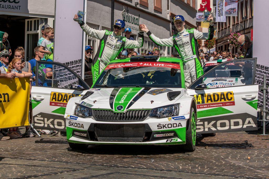 Kalle Rovanperä / Jonne Halttunen, ADAC Rallye Deutschland 2018