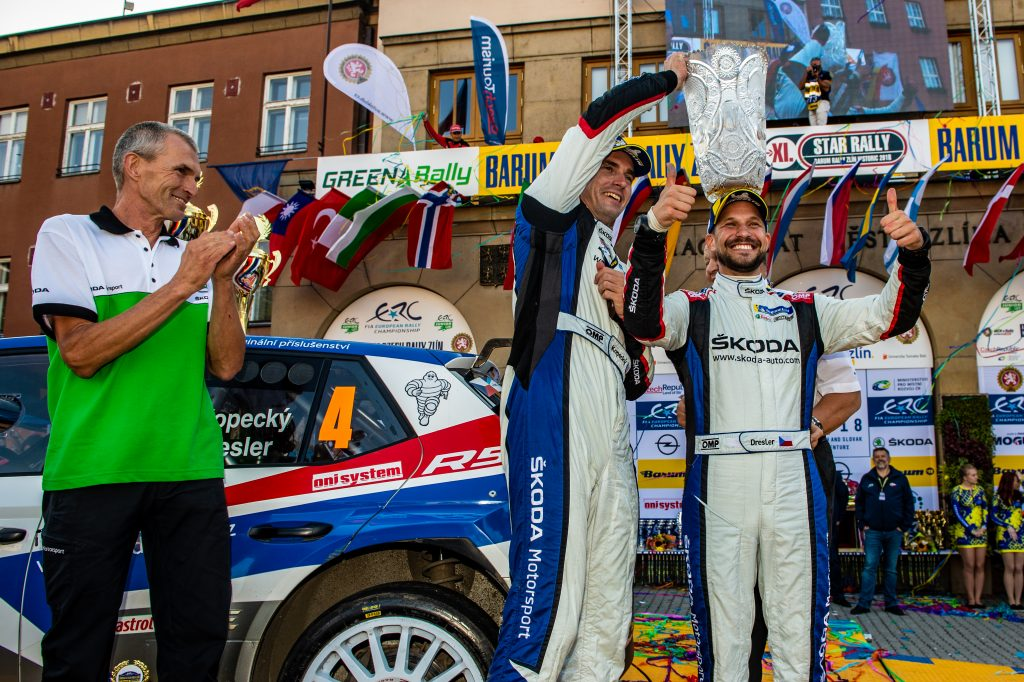 Jan Kopecký / Pavel Dresler, FABIA R5, Barum Czech Rally Zlín