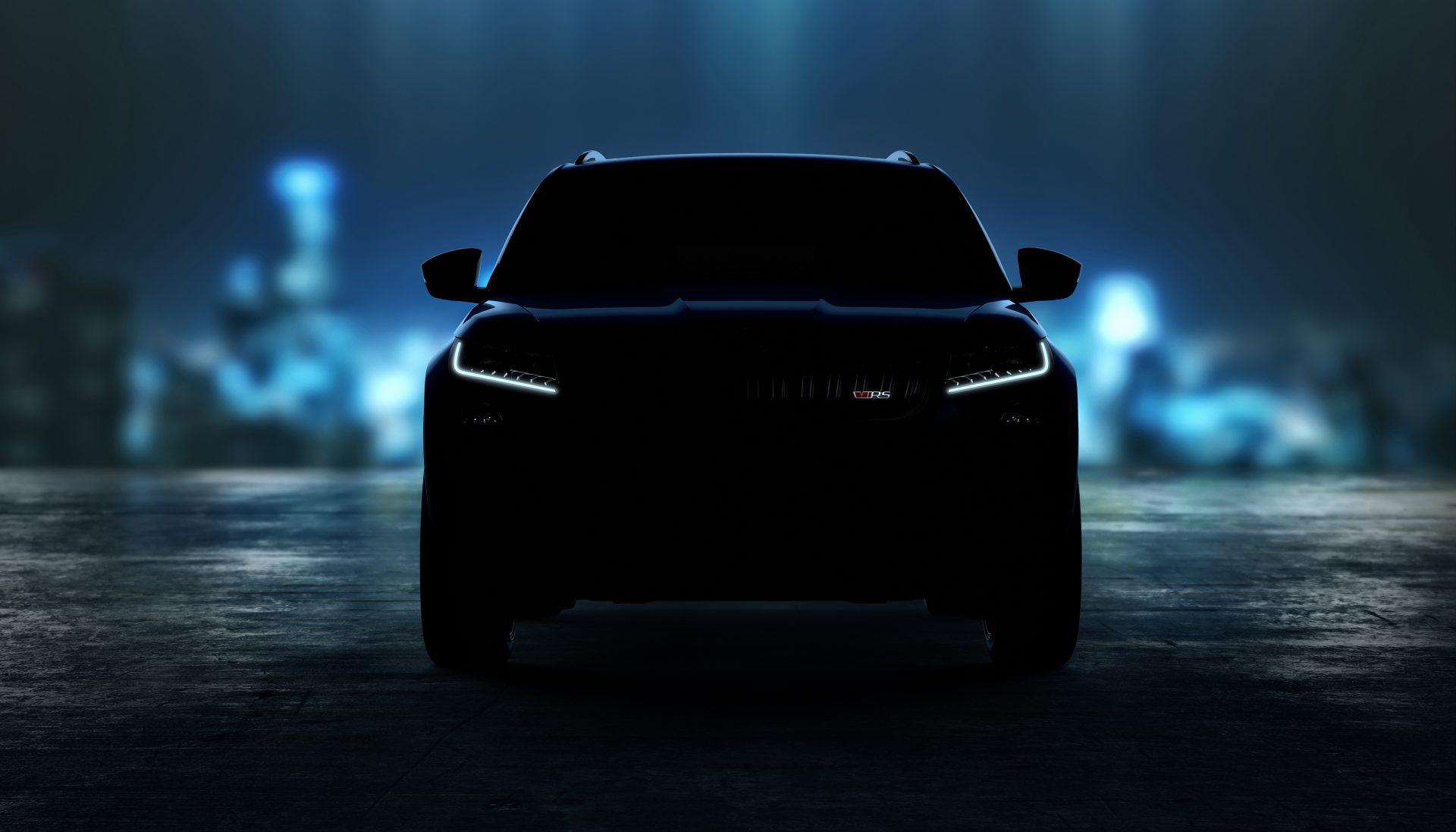 V jako vítězství: Nové logo RS se představí na modelu KODIAQ RS