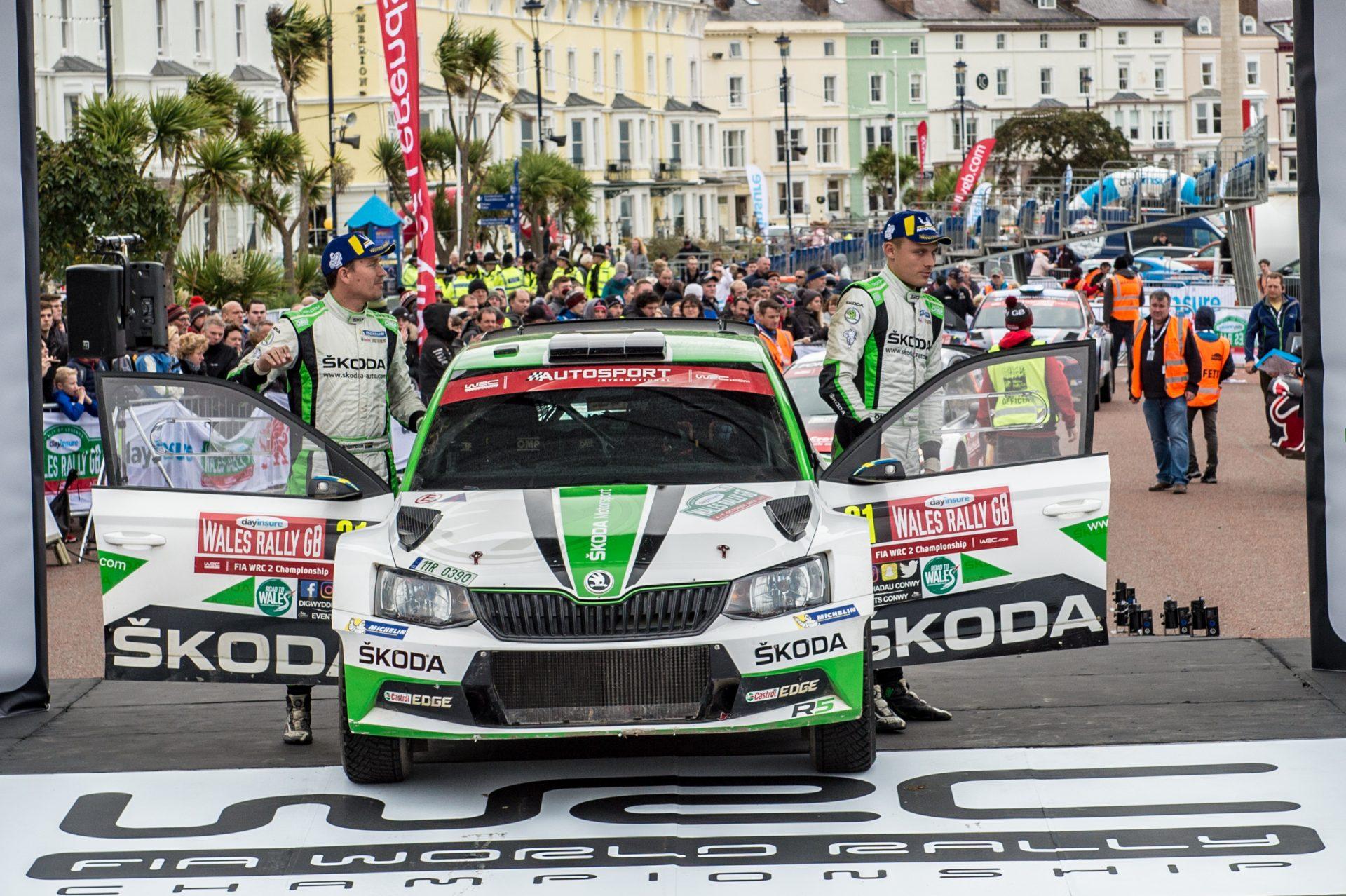 Wales Rally GB 2018: Novinky a výsledky [aktualizováno]