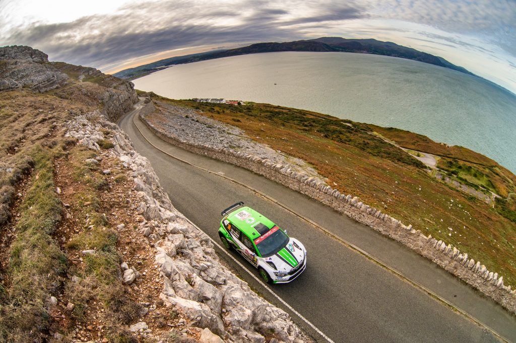 Kalle Rovanperä / Jonne Halttunen, FABIA R5, Wales Rally GB 2018-2