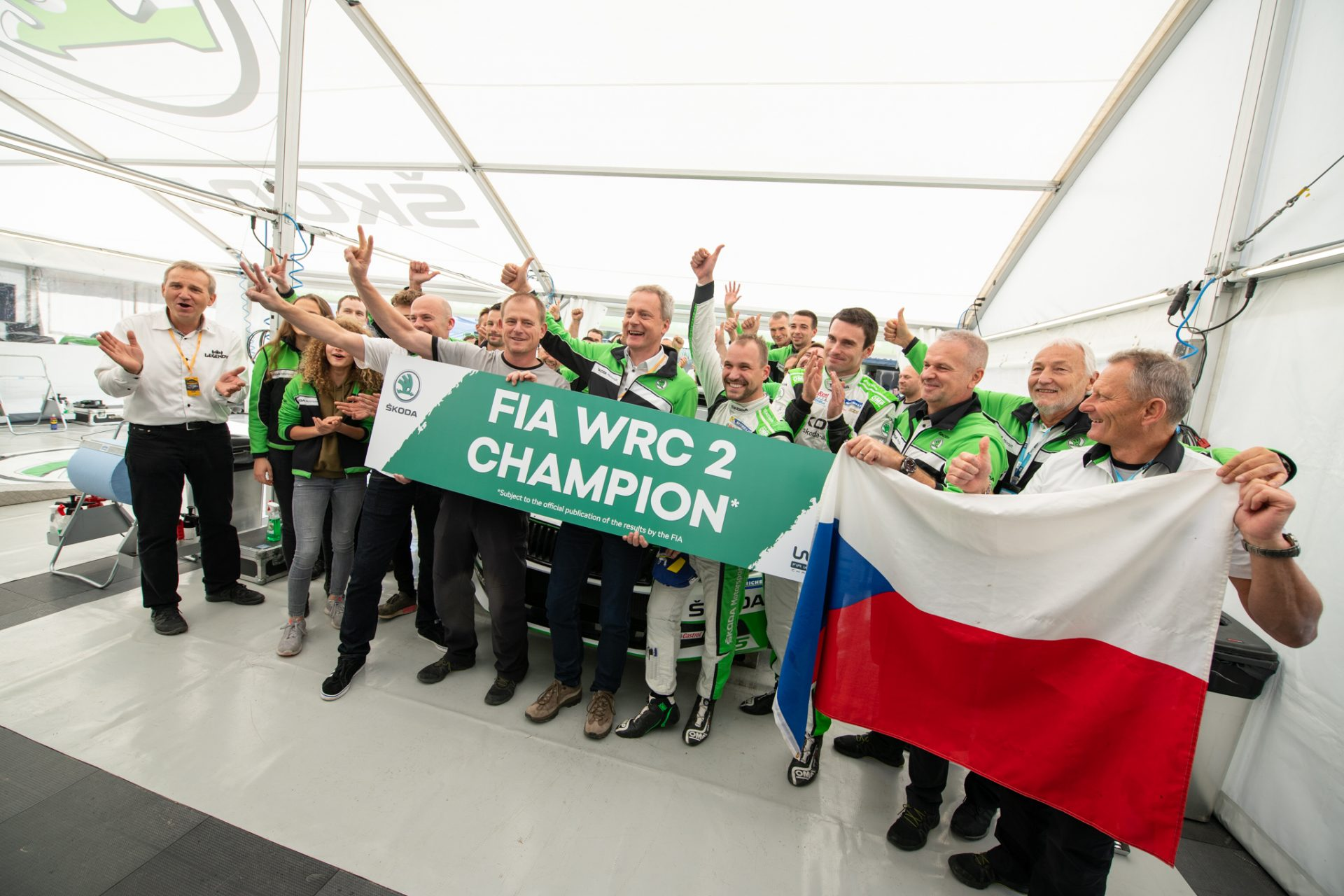 The Season of Dreams: ŠKODA Motorsport in 2018 WRC 2
