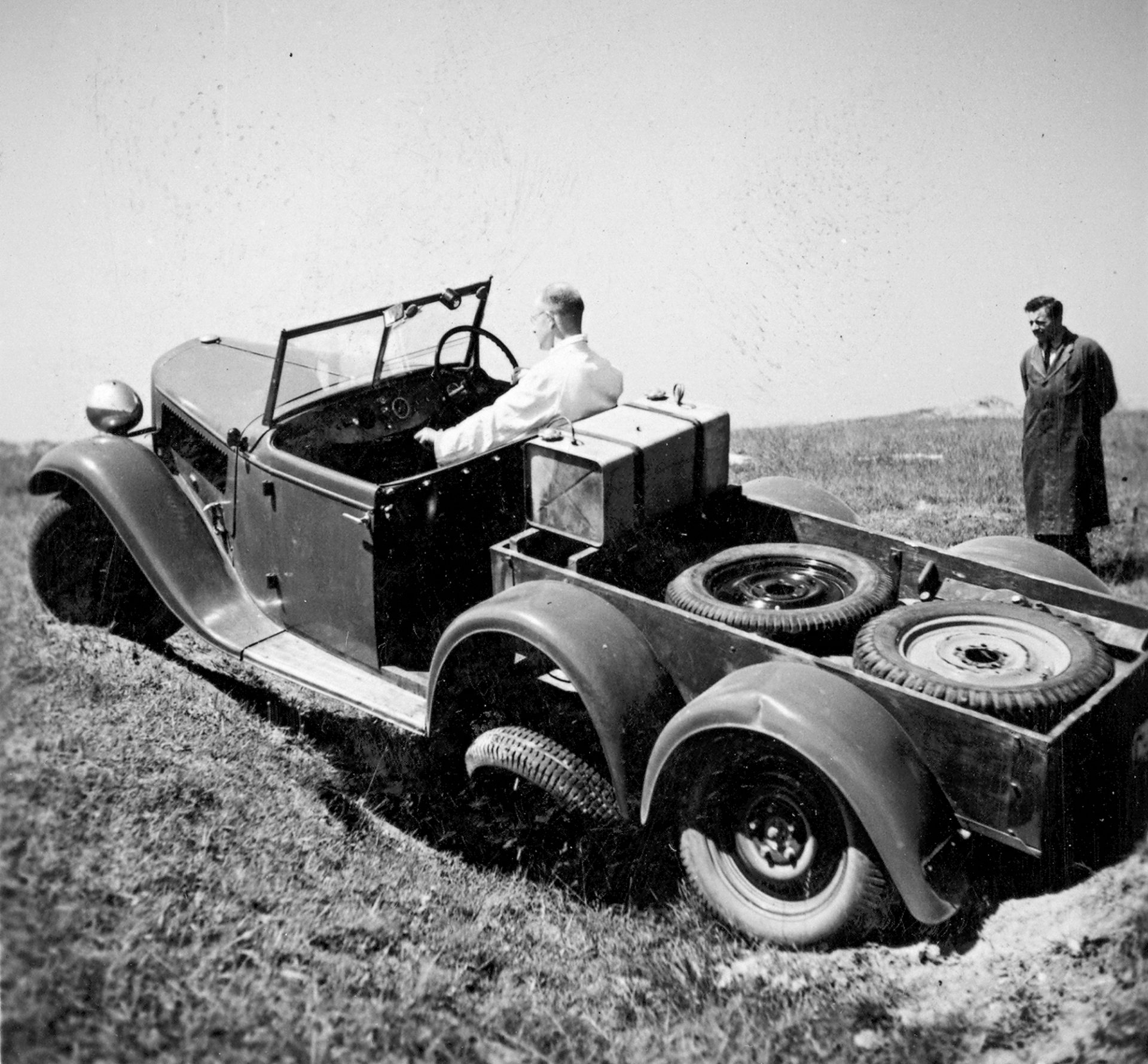 Twice the Traction, a Hundred Times More Problems: A Brief History of 4×4, Part One