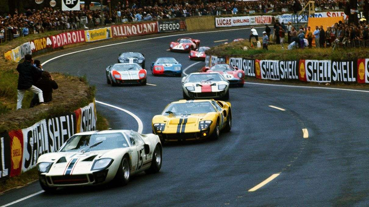 The Other Famous 1-2-3 Victory: How Ford Beat Ferrari at Le Mans
