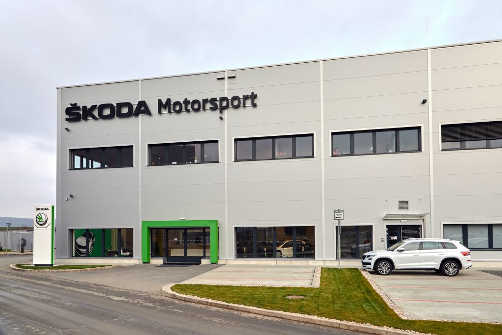 ŠKODA Motorsport premises