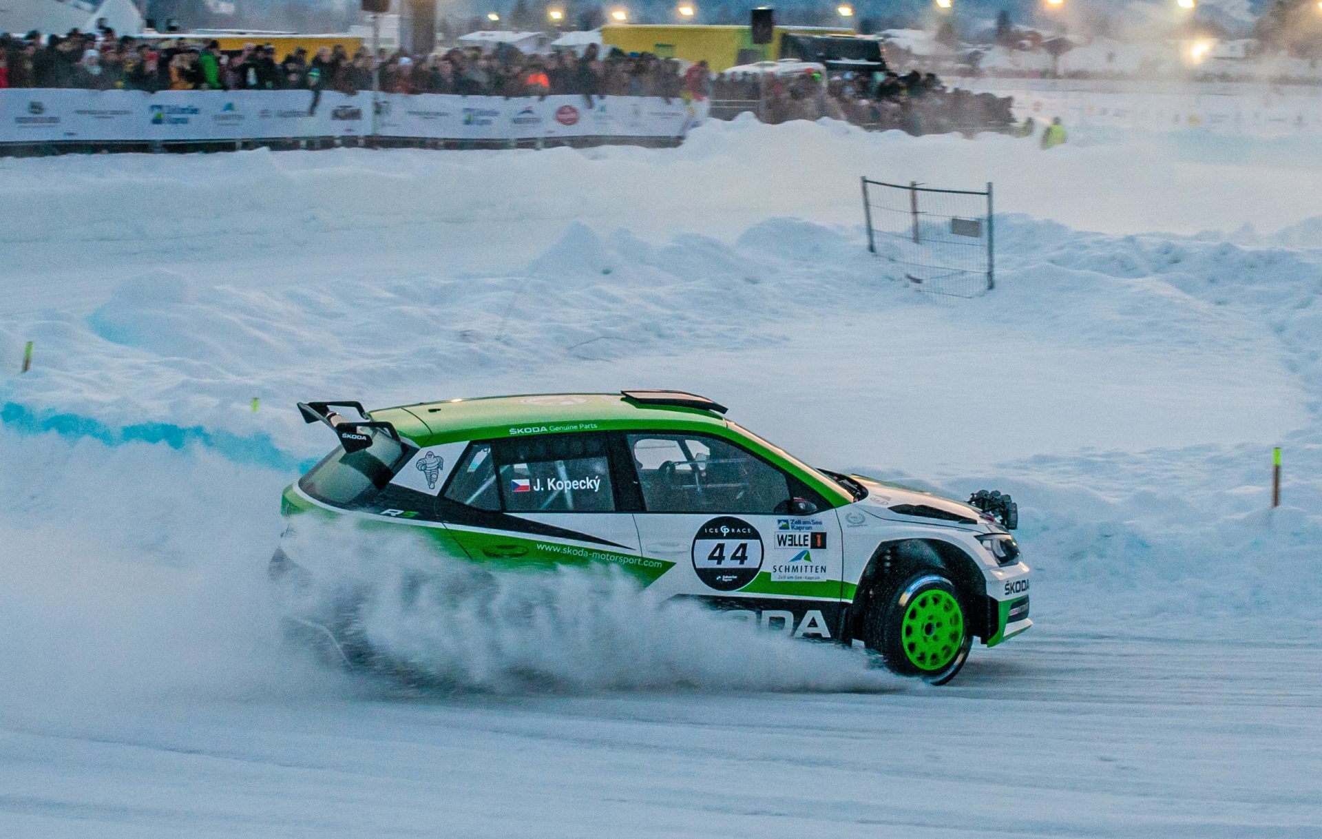 FABIA R5 and Jan Kopecký Dominate on the Ice | GP Ice Race in Zell am See
