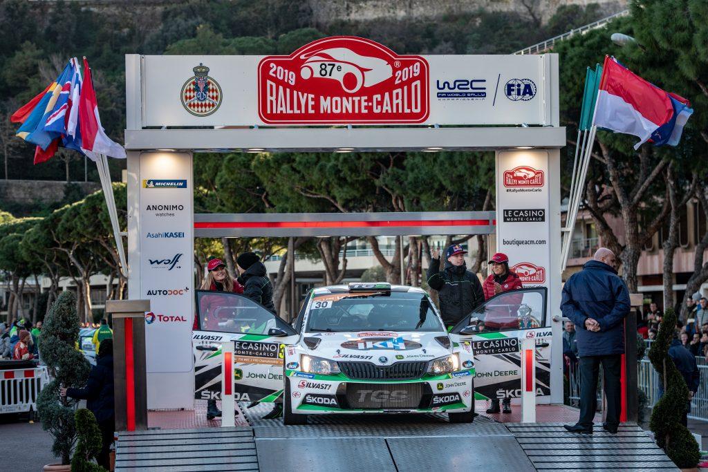 Kalle Rovanperä / Jonne Halttunen, ŠKODA FABIA R5, Rallye Monte Carlo 2018