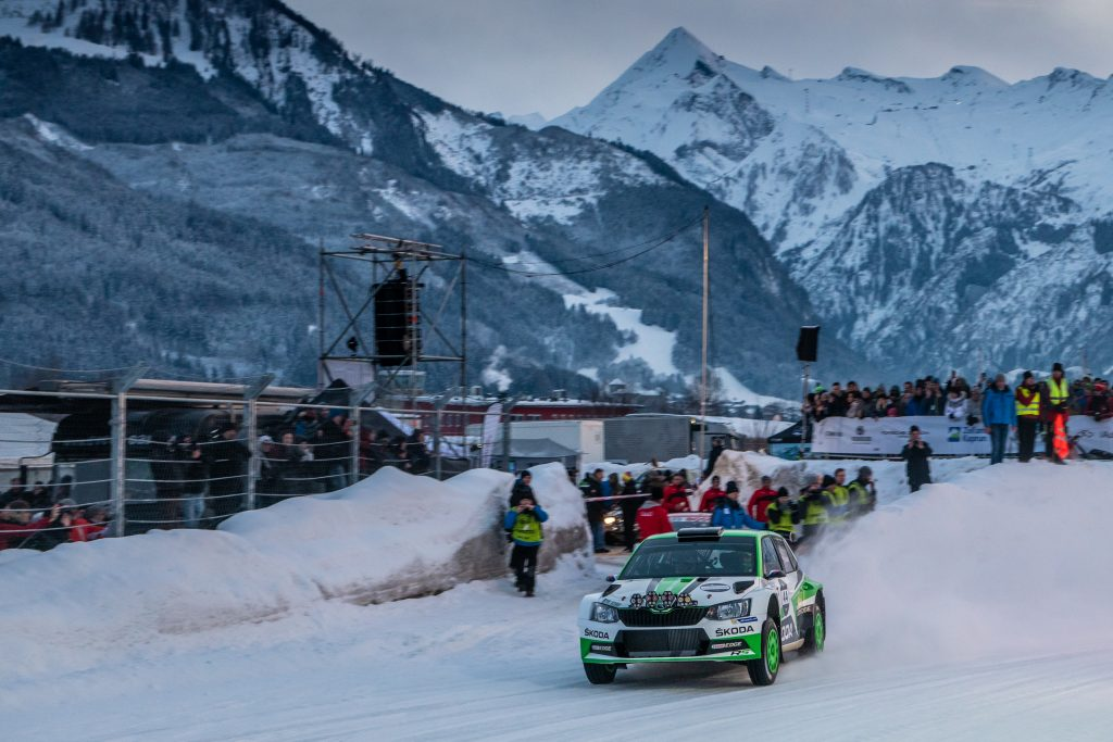 Jan Kopecký, ŠKODA FABIA R5, GP Ice Race Zell am See