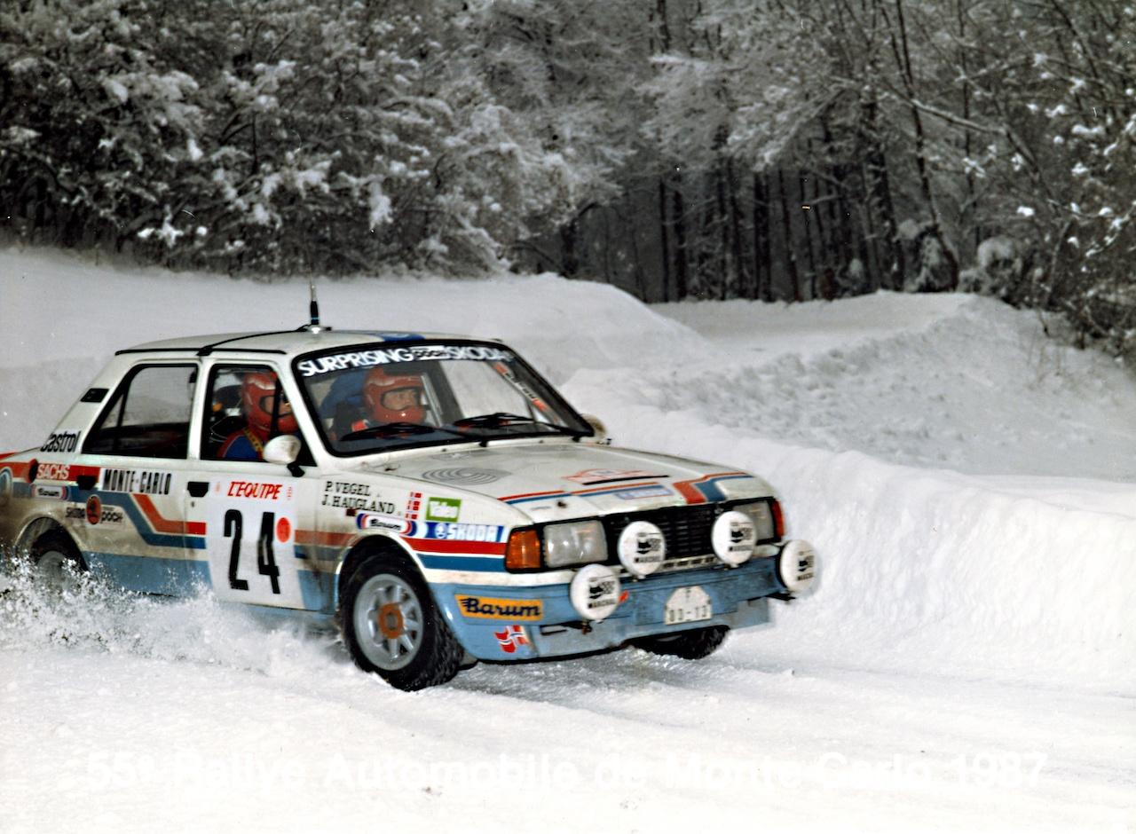 10 Years After: John Haugland and the Other ŠKODA Class Victory in Monte Carlo