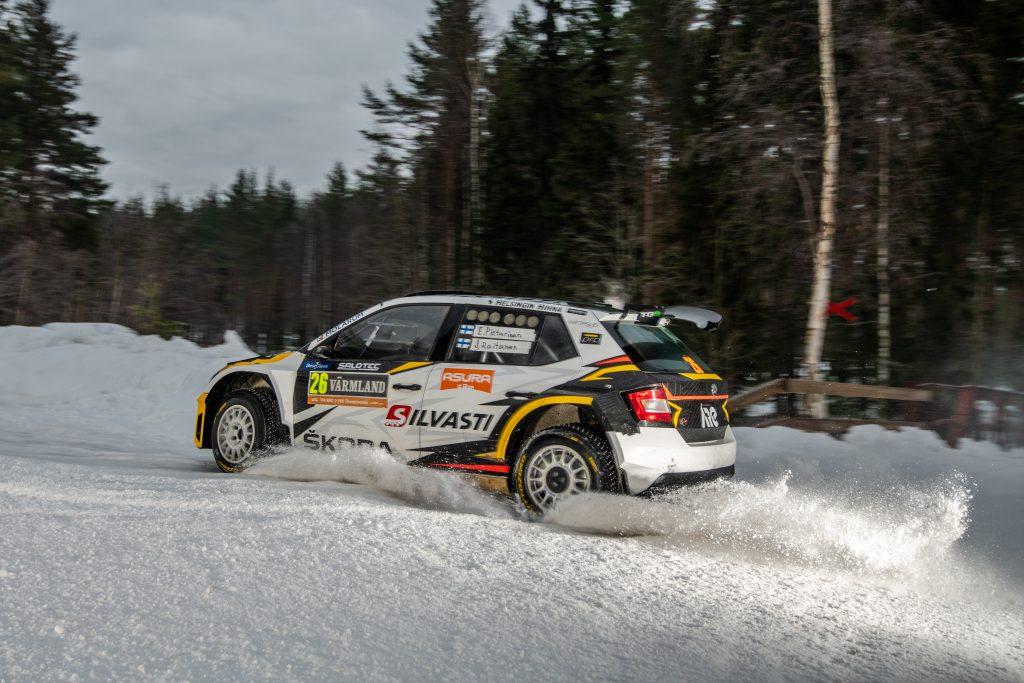 Eerik Pietarinen / Juhana Raitanen, ŠKODA FABIA R5, Rally Sweden