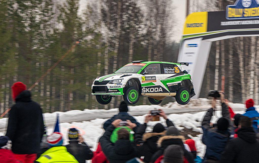 Kalle Rovanperä / Jonne Halttunen, ŠKODA FABIA R5, Rally Sweden 2019