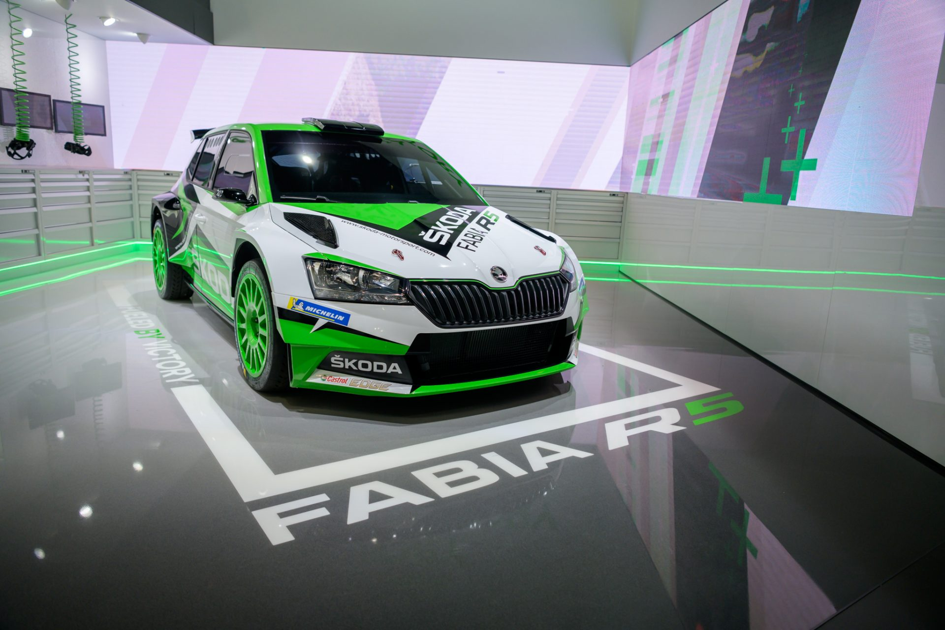 New FABIA R5 Up Close and Personal
