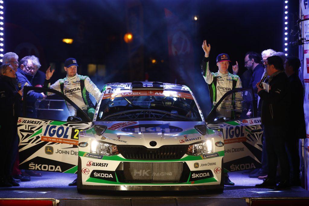 Kalle Rovanperä / Jonne Halttunen, Tour de Corse 2019