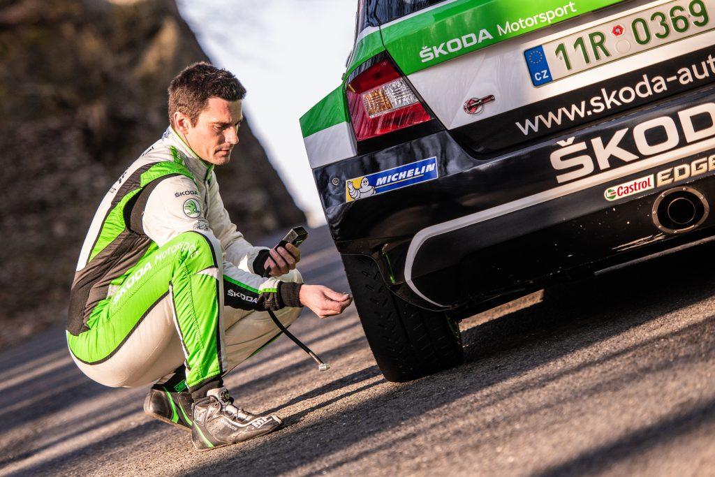 Jan Kopecký, Valašská Rally 2018
