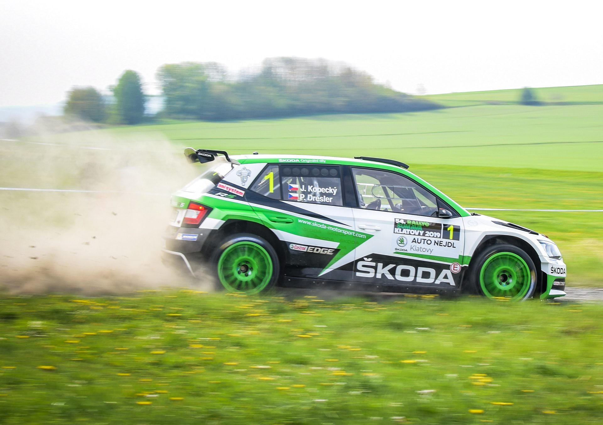 Kopecký Ended His Long Winning Streak with Runner-Up Finish at Rally Šumava