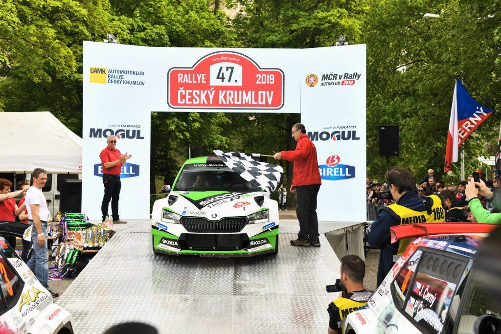 Jan Kopecký/Pavel Dresler, Rallye Český Krumlov 2019
