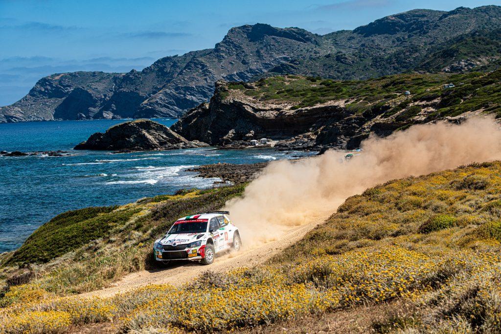 Fabio Andolfi/Simone Scattolin, Rally Italia Sardegna