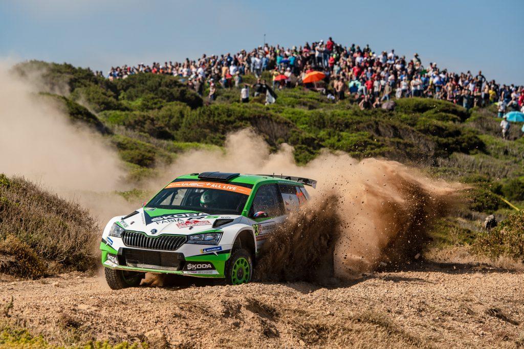 Jan Kopecký/Pavel Dresler, Rally Italia Sardegna