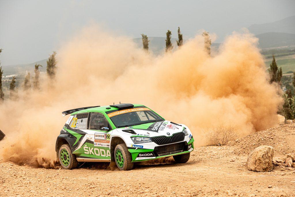 Kalle Rovanperä/Jonne Halttunen, Rally Italia Sardegna