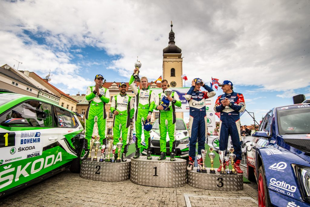 Winners of Rally Bohemia 2019