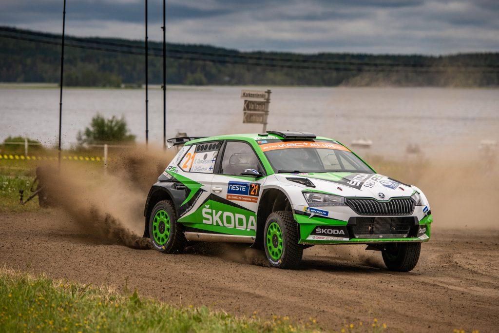 Rovanperä/Halttunen, Rally Finland