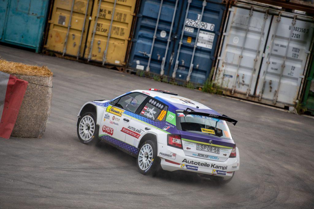 Wagner/Winter, Barum Czech Rally Zlín