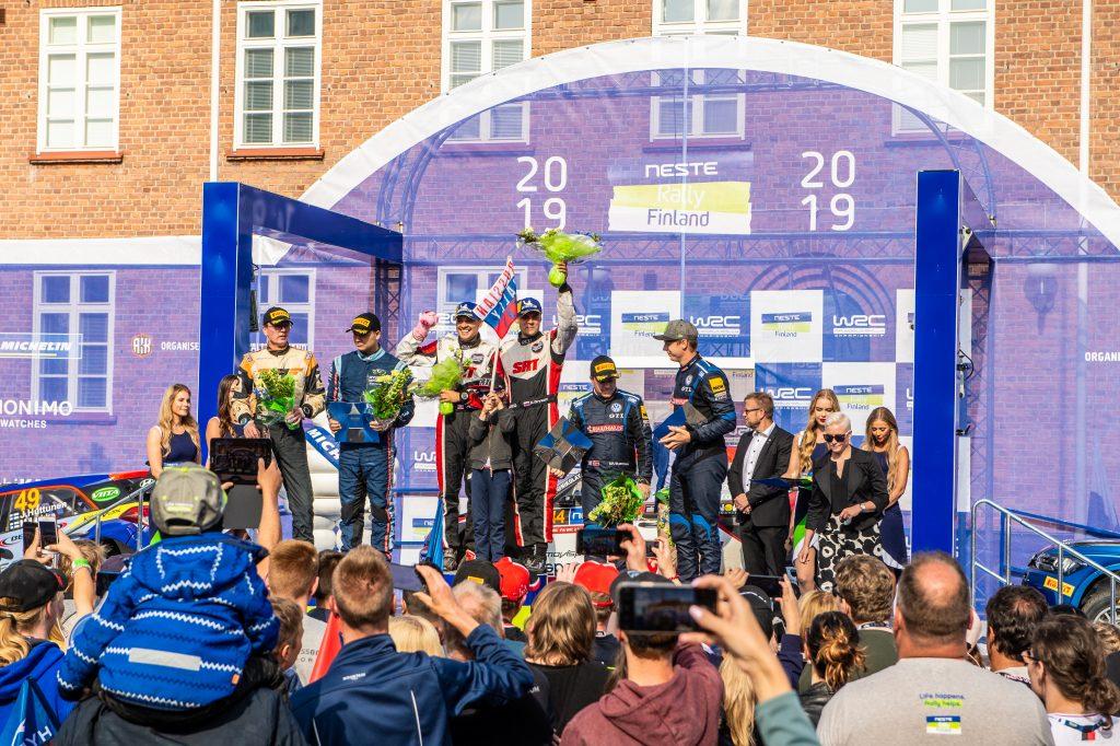 Gryazin/Fedorov, Rally Finland