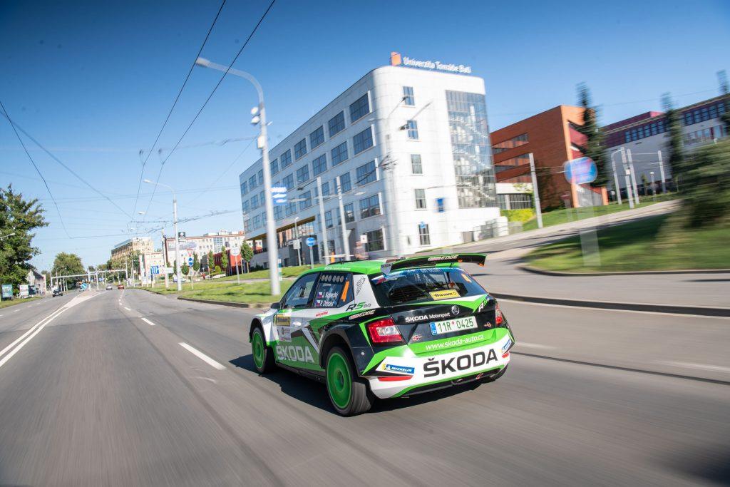 Kopecký/Dresler, Barum Czech Rally Zlín