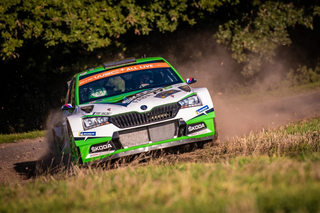 Kopecký/Dresler, ADAC Rallye Deutschland