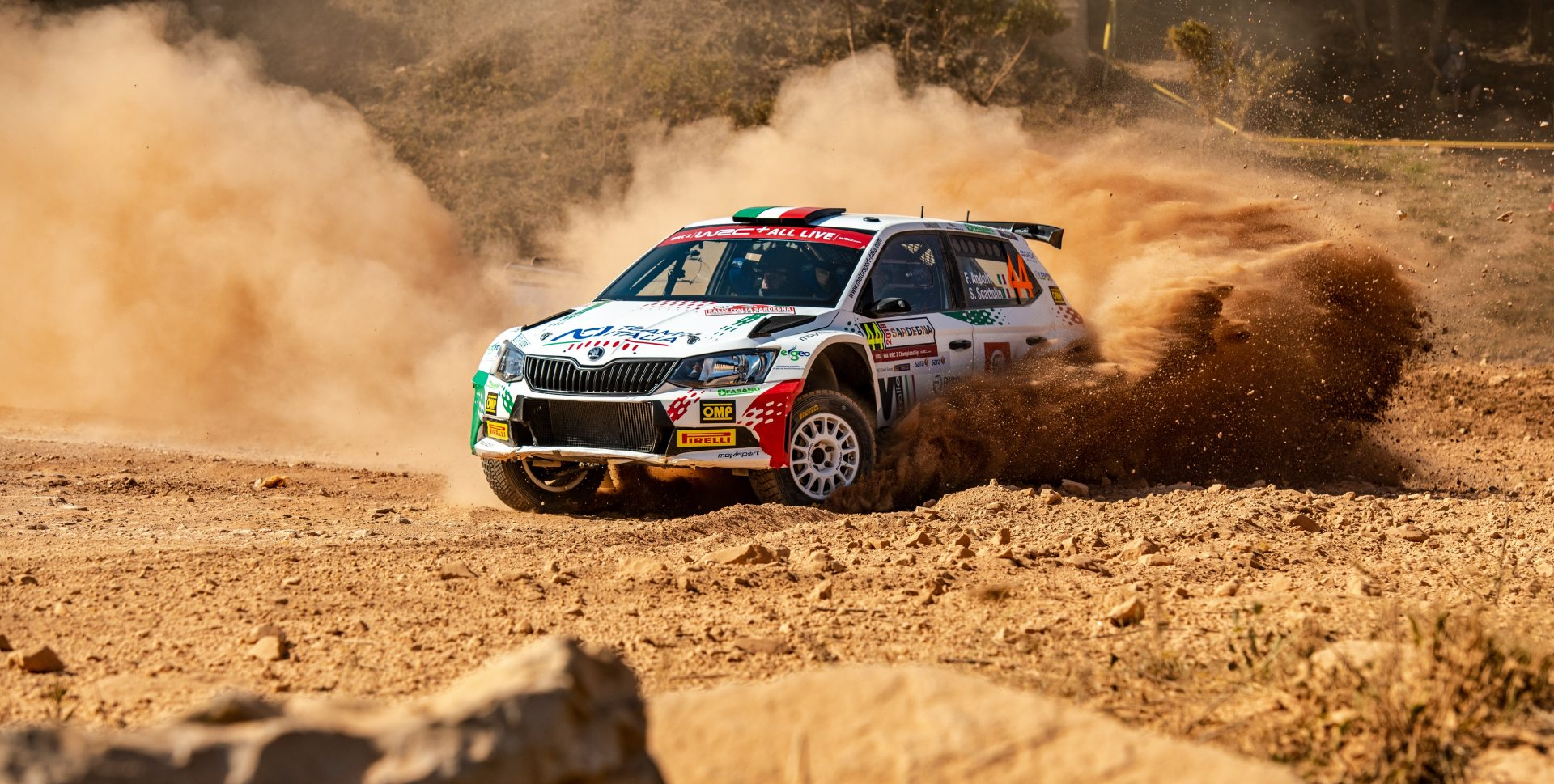Fabio Andolfi: Even my mother competes in rally