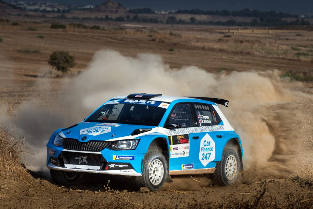 Ingram/Whittock, Cyprus Rally