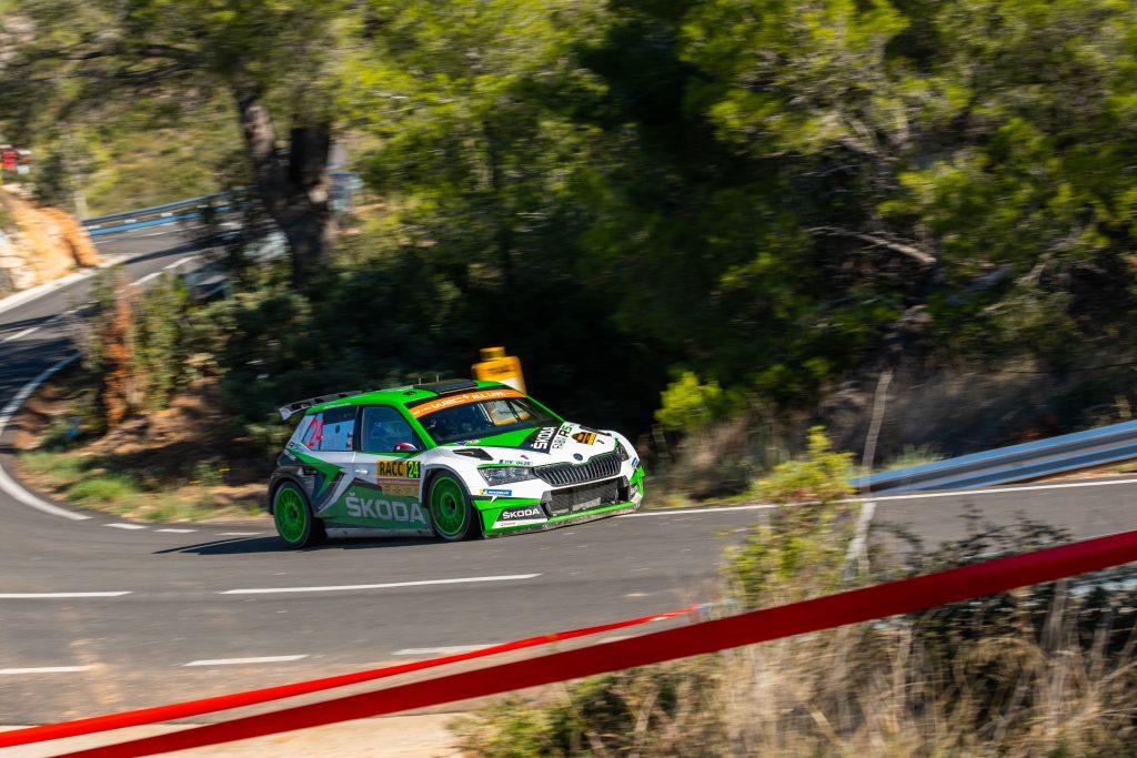 Jan Kopecký/Jan Hloušek, RallyRACC Catalunya 2019