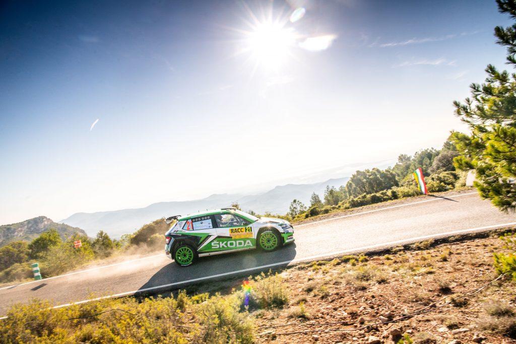Kalle Rovanperä/Jonne Halttunen, RallyRACC Catalunya 2019
