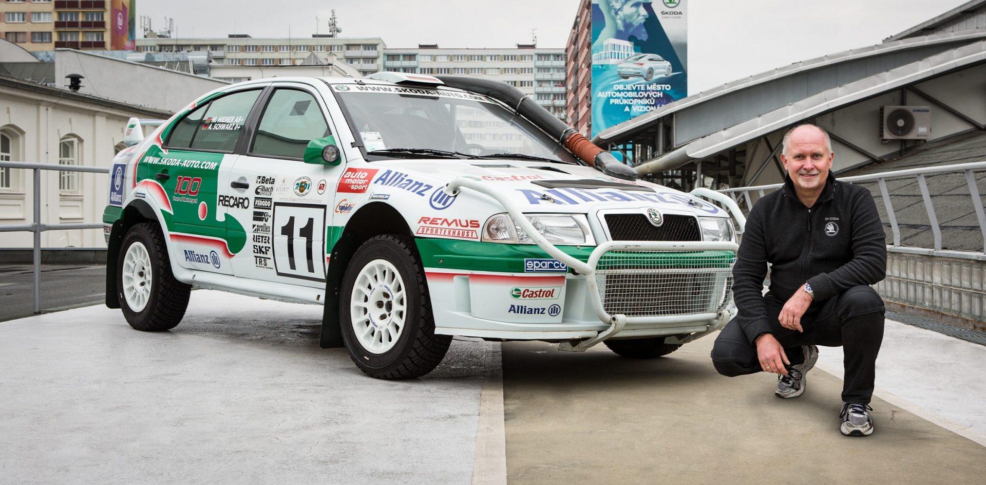 Where Other Cars Failed, the OCTAVIA WRC Kept Going, Says Armin Schwarz