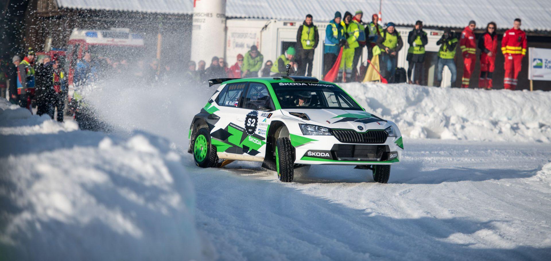 Na sněžné dráze závodu Ice Race byl nejrychlejší Fabian Kreim | 360° video