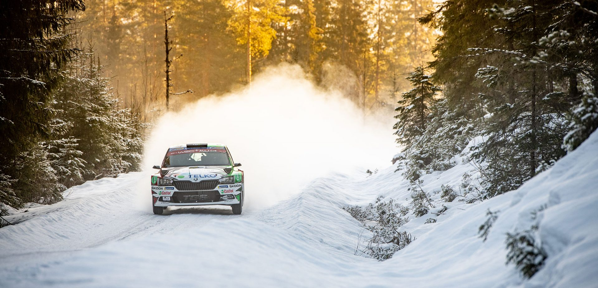 Rally Sweden: Tight Battle Up Until the End