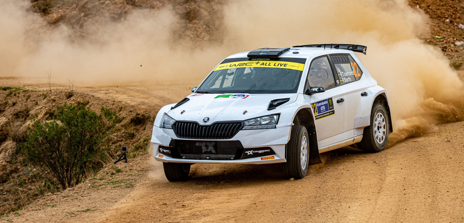 Pontus Tidemand Once Again Dominates the Mexican Rally