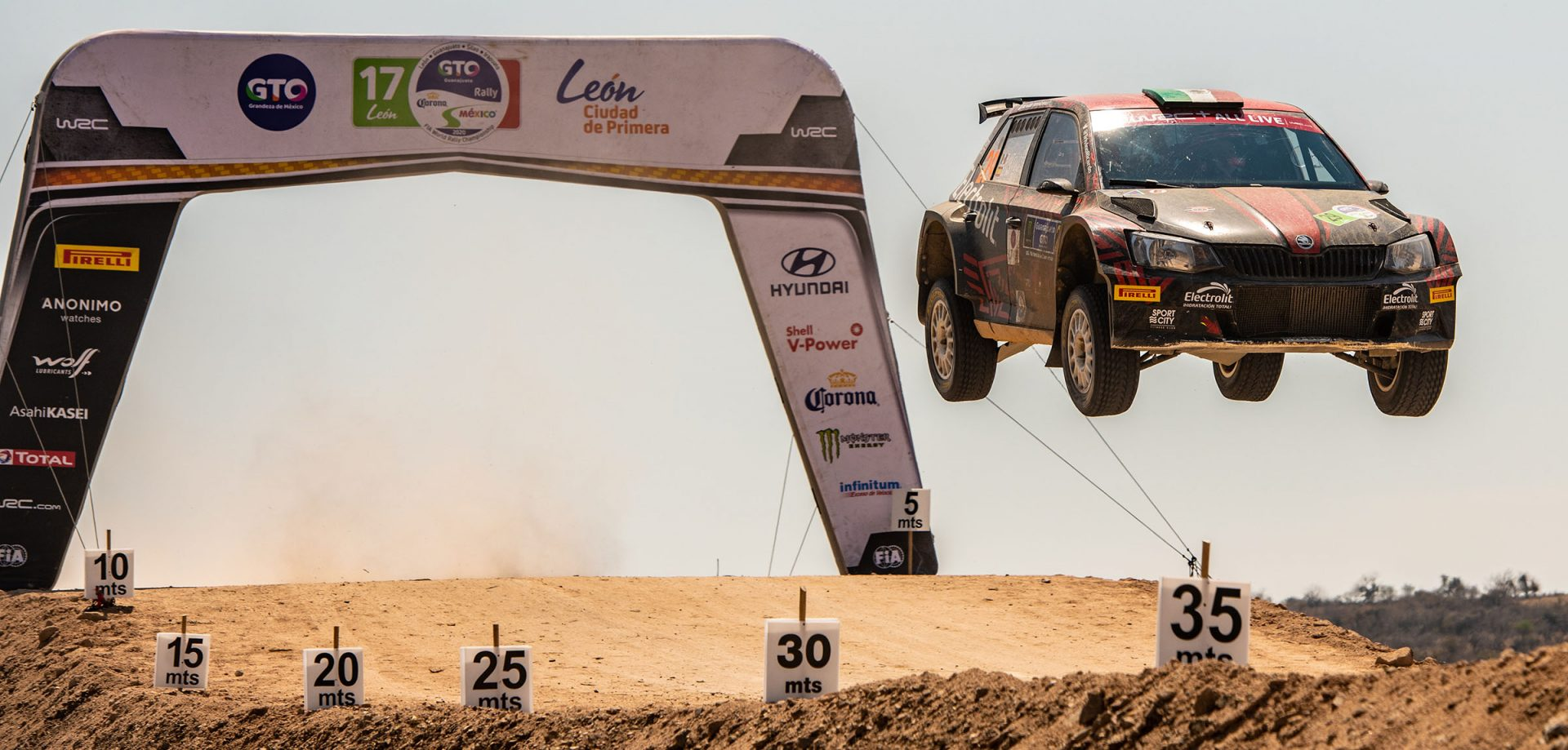 Download Smartphone Wallpapers from Rally Mexico