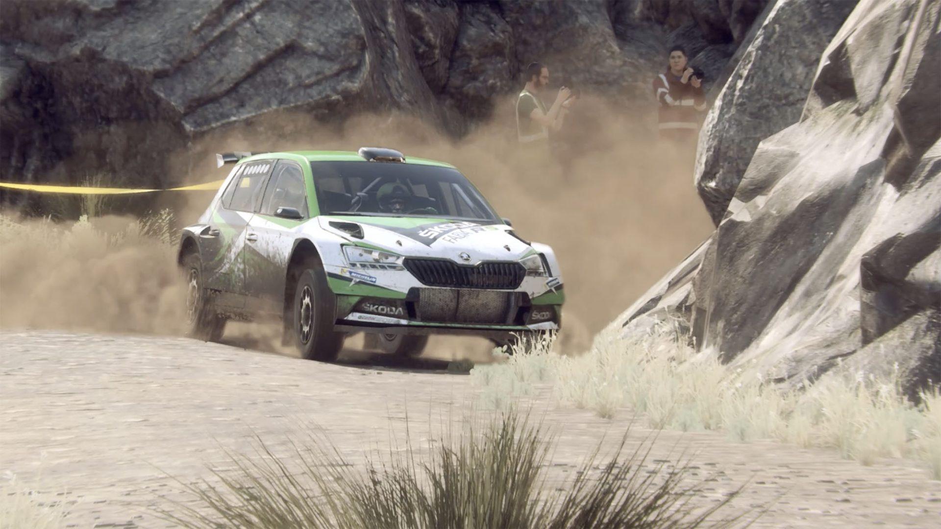 ŠKODA Motorsport eChallenge: Challenge the Real Rally Drivers in the DiRT Tournament!