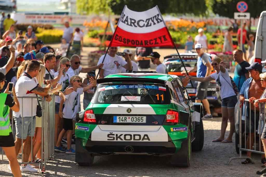 podium-mistrzostw-europy-klasyfikacji-juniorskiej-dla-zalogi-skoda-polska-motorsport