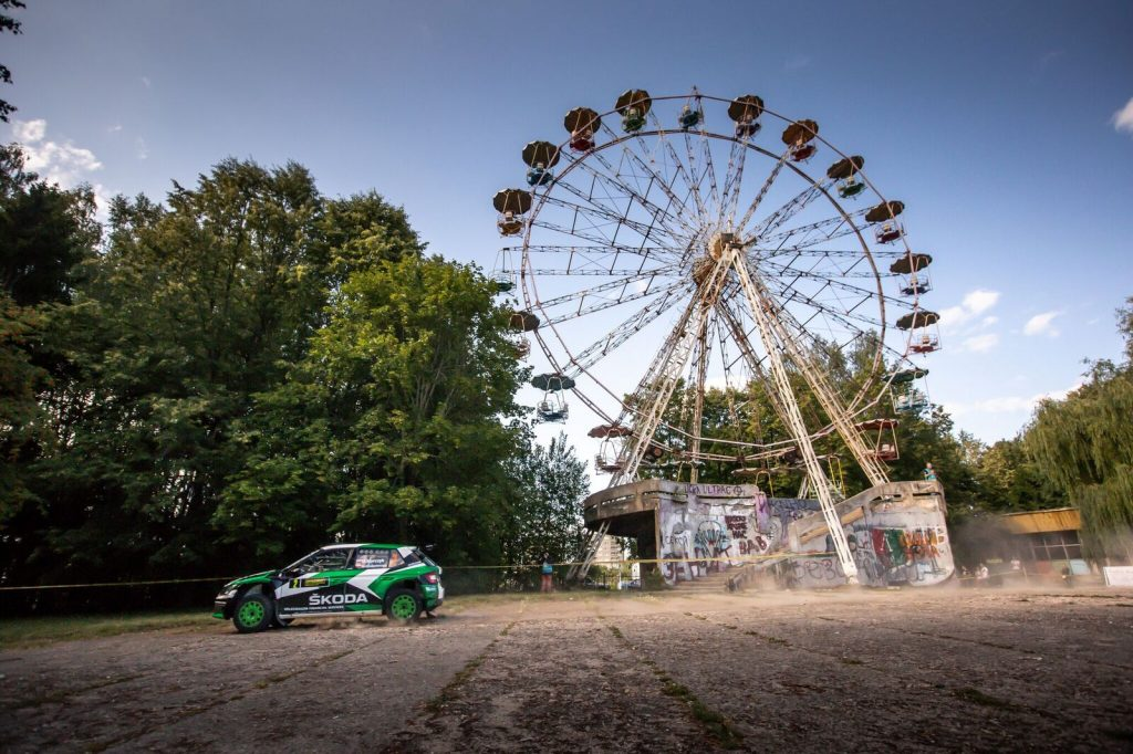 FABIA R5 RALLY ELECTRENAI